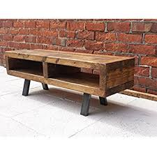 Contemporary Rustic Industrial Tv Stand Or Coffee Table 100 Cm