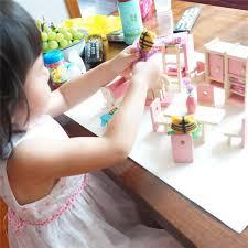 aliexpress com buy baby wooden doll bathroom furniture bedroom