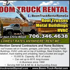 100 Truck Rental Company The Boom Man 72 Photos 1 Review Industrial 31