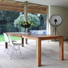 Ethnicraft Teak Slice Extension Dining Table 180cm By