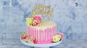 drip cake mit echten himbeertorte cook bakery