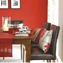 Red Accent Wall In My Future Dining Room Decor