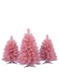 Pretty In Pink Tabletop Christmas Trees PinkChristmas Rollover To Zoom