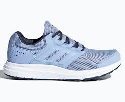 Adidas Women's Galaxy 4 Shoe - Chalk Blue/Trace Royal   EBay