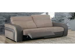 canape relax tissu articles with canape relax electrique 3 places tissu tag canape