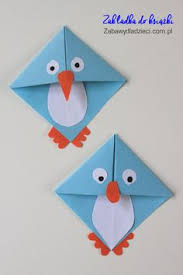 Tissue Paper Crafts Origami Penguin Penguinorigami Origamiforkids Easyorigami Zabawydladzieci Bookmark