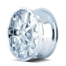 100 Chrome Truck Wheels MAYHEM CHAOS DEALR Automotive Lifted Accessories