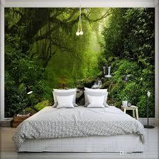 großhandel fototapete 3d stereo forest natur landschaft wandbild wohnzimmer sofa tv schlafzimmer hintergrund wand papel de parede 3d arkadi
