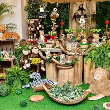 Safari Baby Shower Cake Decorations