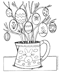 Easter Coloring Pages For Kids Free 293