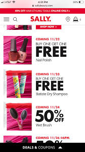 Sally Beauty- Nail Polish & Batiste BOGOF : MUAontheCheap Sally Beauty Supply Hot 5 Off A 25 Instore Purchase 80 Promo Coupon Codes Discount January 2019 Coupons Shopping Deals Code All Beauty Bass Outlets Shoes Free Eyeshadow From With Any 10 Inc Best Buy Pre Paid Phones When It Comes To Roots Know Your Options Deal Alert Freebie Contea Amazon Advent Calendar Day 9 Hansen Gel Rehab Online Stacking For 20 App