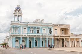 Colonial Architecture In Cienfuegos