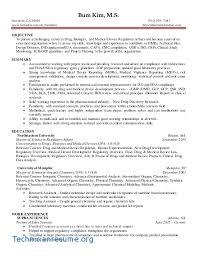 Entry Level Cra Resume Sample Pharmaceutical Regulatory Affairs Robertottni