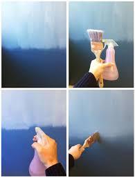 Blue Ombre Wall Blending