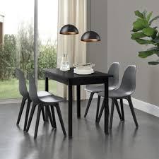 en casa 4x design stühle grau schwarz esszimmer stuhl