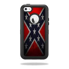 Rebel Flag Skin for OtterBox Defender iPhone 5C Case