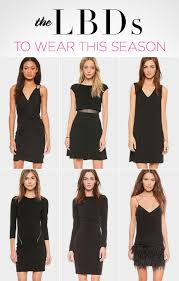 Little Black Dress LBD Trends For Fall 2014