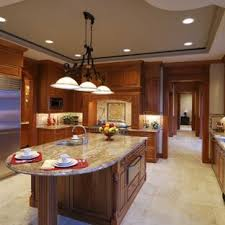 Dark Cabinets Light Floor