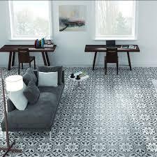 Home Depot Merola Hex Tile by Merola Tile Arte Grey 9 3 4 In X 9 3 4 In Porcelain Floor And