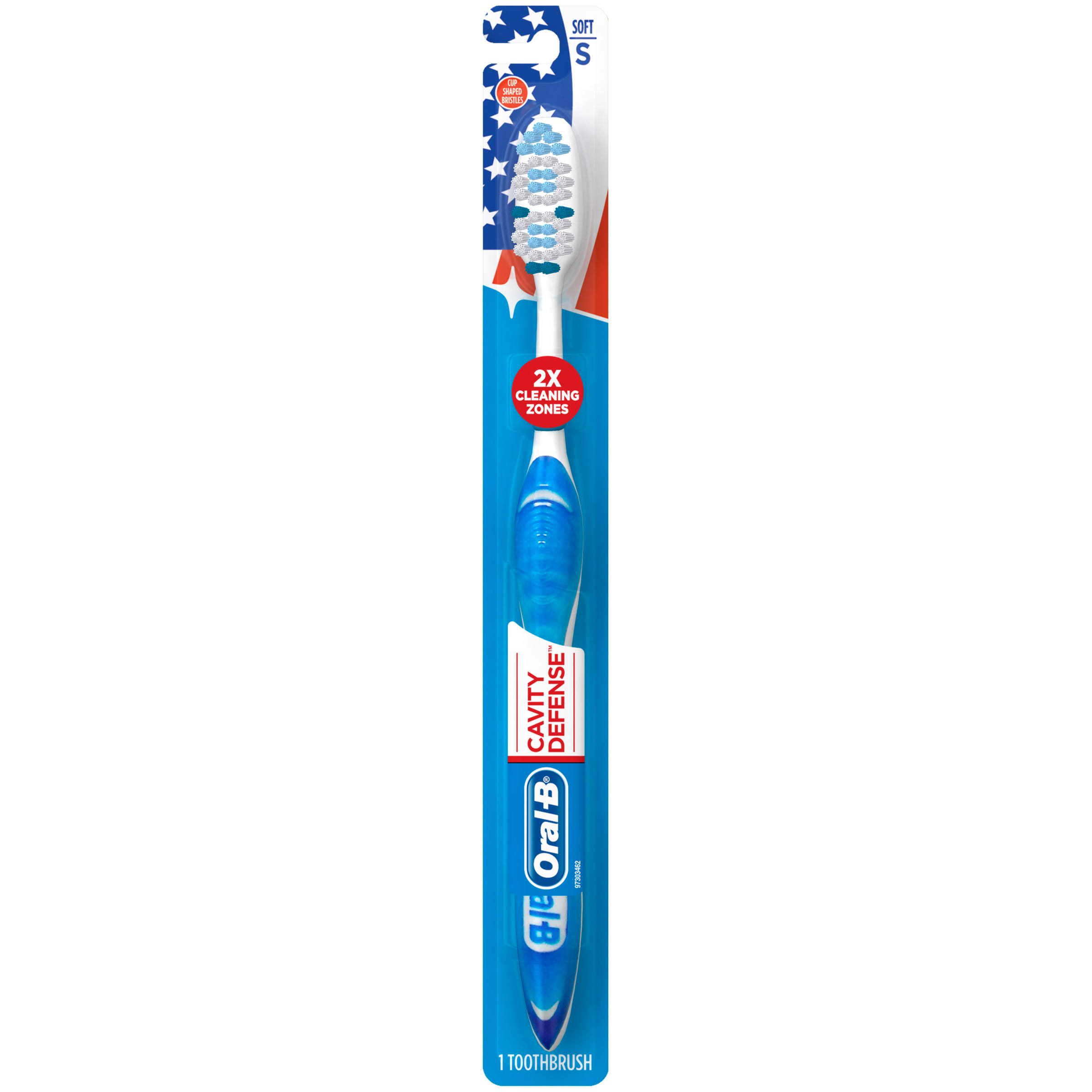 Oral-B Cavity Defense Toothbrush - Soft