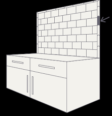 tile school how to finish your backsplash with trim fireclay tile