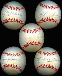 100 Balls On Trucks Lot Detail Baseball Lot Of 15 Signed Balls With Vander Meer