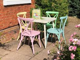 Press Loft | Pretty Pastels At The Garden Furniture Centre Press Back 5 Piece Ding Set Pressback Table And Chairs Redo Originally A Light Oak Set From The Sold Vintage Pressed In As Old White Daisys Doo Dahs Fniture Chairs Stone Barn Antique Oak Ding Table With 1 Leaf 4 Modern Pressback Chairs Nostalgia Traditional Double Pressback Side Chair Colantonio Chair Makeover Larkin Wikipedia Buttonwood Countryside Amish Five Christopher Columbus Press Back 1893 Chicago Worlds Fair Victorian Of 6 Antique Carved Elm Oak 31285