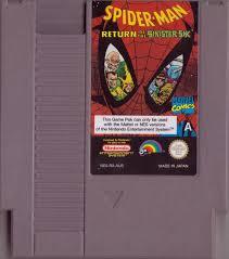 Spider Man Return Of The Sinister Six NES Media