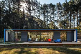 100 Modern Summer House Compact In So Roque Brazil