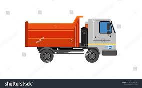 100 Bulk Truck And Transport Orange Machinery Ation Cargo Stock Vector