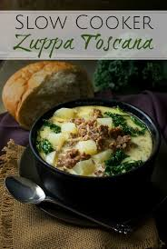 Crock Pot Potato Soup Mama by Slow Cooker Zuppa Toscana The Chunky Chef