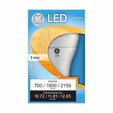 ge led daylight 3 way bulb walmart