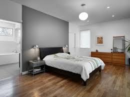 murs et ameublement chambre tout en gris tendance master bedroom