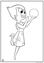 Inside Out Coloring Pages Free Printable Joy 01