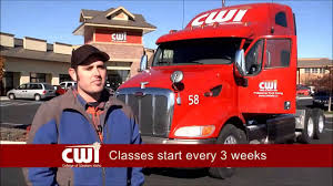 CWI Truck Driving TV Spot - Spring 2015 - YouTube Singh Truck Driving School In Prestons Sydney Welcome To Nevada Desert A Bunch Of Reasons Not To Ever Work For Western Express Professional Students Graduate From Dakota Star Custom Loaded With Logs Divisions Prime Inc Truck Driving School Encouraging Women Enter The Cadian Trucking Industry Wtfc Sergio Provids Cdl Tennessee Home Facebook Company Reviews Complaints Research Driver 10 Best Portland Schools Expertise Untitled