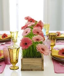 Spring Centerpiece For Table Or Buffet I Love How Simple This Is But It