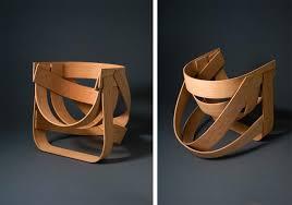 chaise design en bambou par remy et veenhuizen arkko