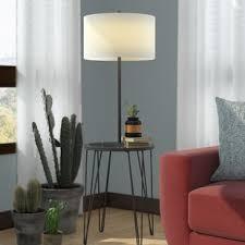 Dellinger Side Table 58 Floor Lamp