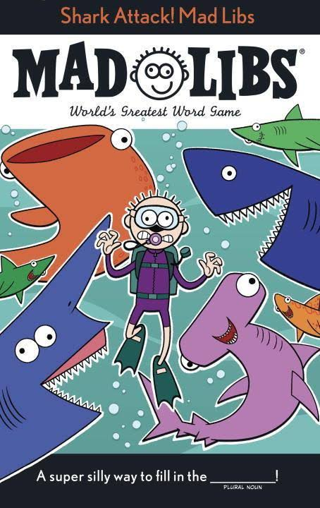 Shark Attack! Mad Libs - Mickie Matheis