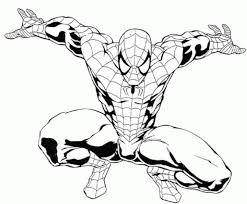 Spiderman Coloring Pages Online Free Printable