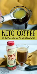 Learn How To Make Ketogneic Coffee The Easy Way With Power Omega Creamer You