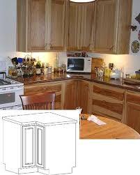 beyond the lazy susan corner cabinet options