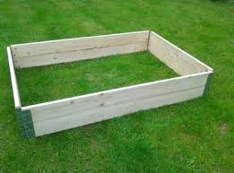 Raised Bed Wooden Pallet Collars