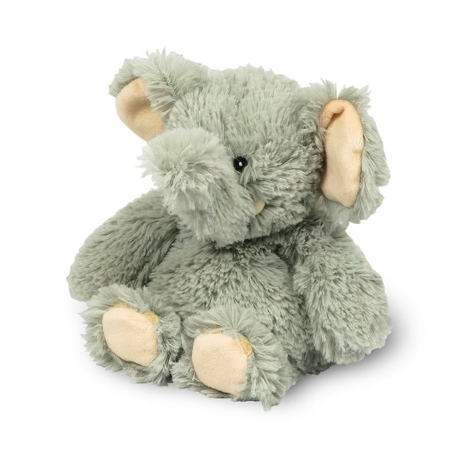 "Intelex Cozy Scented Heatable Plush - 6"" Junior Elephant, Lavender Scent"