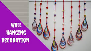 Paper Beads Wall Hanging Crafts Decoration Idea