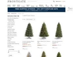 Frontgate Christmas Trees Uk by Competitor Of Frontgate Com Top Adwords Competitors For