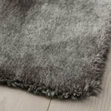 details zu ikea teppich fell kunstfell kunst lammfell grau 55x85 cm wohnzimmer neu