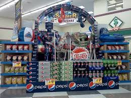 Grocery Store Pepsi Display