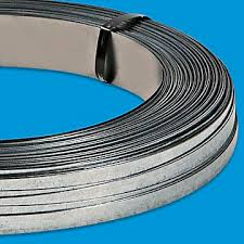 Decorative Metal Banding Material by Steel Strapping Metal Strapping Steel Banding In Stock Uline