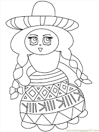 Best Mexico Coloring Pages 72 In Online With